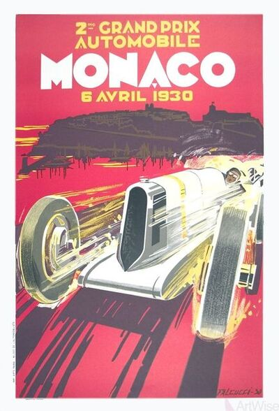 Robert Falcucci, 'Monaco Grand Prix 1930', 1985