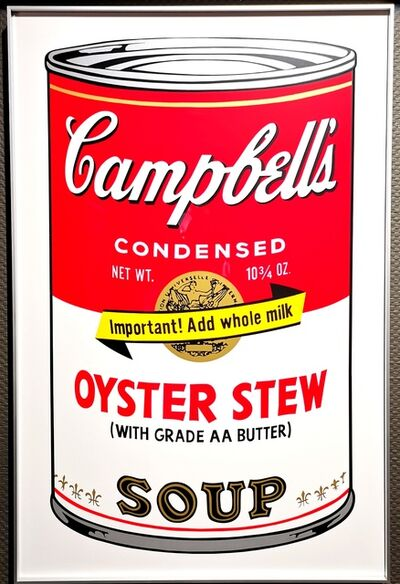Andy Warhol, 'Campbell's Suop II - Oyster Stew', 2015