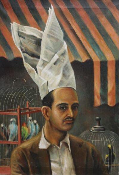 Clarence Holbrook Carter, 'The Bird Vendor of Caracas', 1946