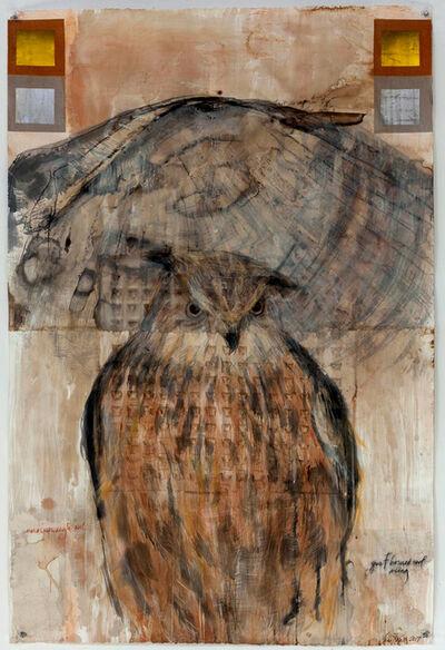 Jane Rosen, 'Eruasian Eagle Owl', 2017