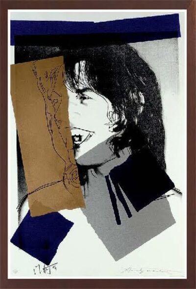 Andy Warhol, 'JAGGER FS II.142', 1975