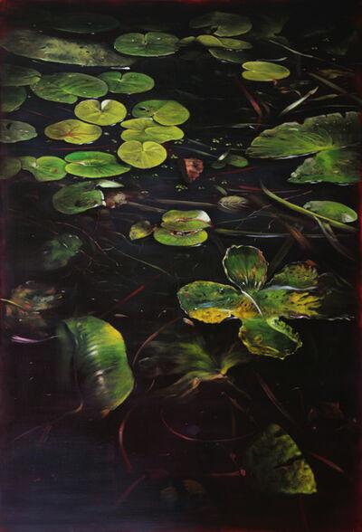Helena Parada-Kim, 'Pond lilies II - middle panel', 2018