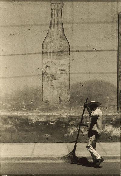 Ralston Crawford, 'Man Sweeping Street', 1950