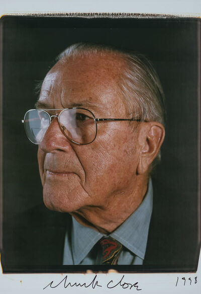 Chuck Close, 'Portrait of Mr. Heiskell', 1998