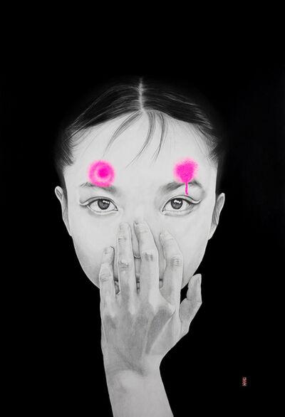 """Lantomo, '""""Pink Bull's Eyes""""', 2019"""