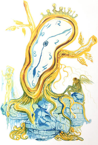 Salvador Dalí, 'Stillness of Time: Tree Clock ', 1976
