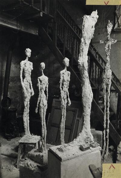 Inge Morath, 'Sculptures in Alberto Giacometti's Paris studio.', 1958
