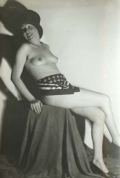 Germaine Krull, 'Nude in Cabaret', 1929/1929