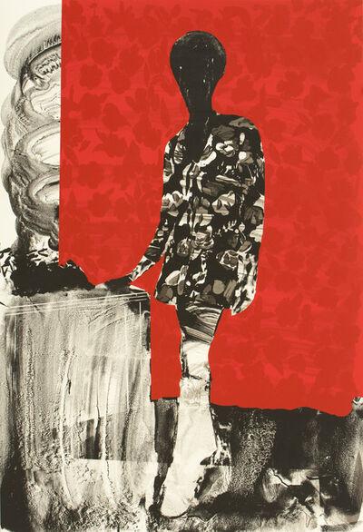 Hurvin Anderson, 'Mrs. S. Keita - Red', 2010