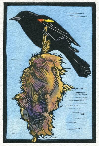 Sherrie York, 'Red Winged Blackbird'