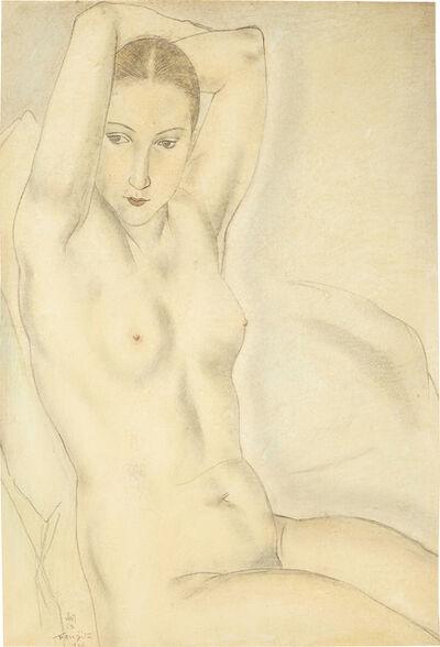 Léonard Tsugouharu Foujita, 'Nu aux bras levés', 1926