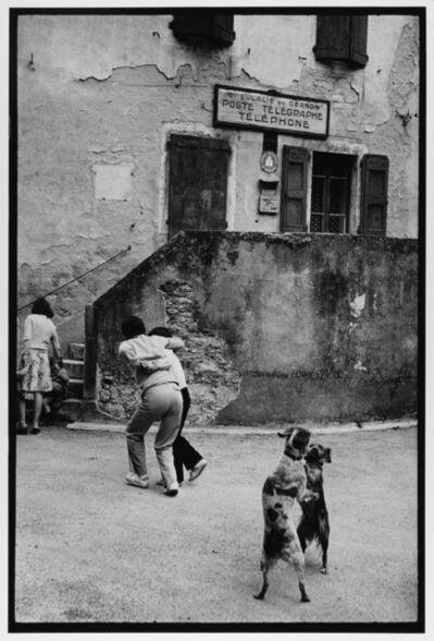 Leonard Freed, 'Dogs Dancing, Cote D'azur, France ', 1980