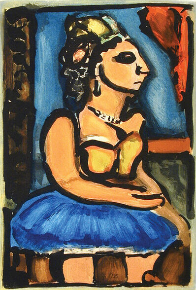 Georges Rouault, 'Madame Louison', 1935