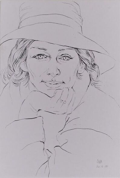 Barbara Swan, 'Anne Sexton', 1971