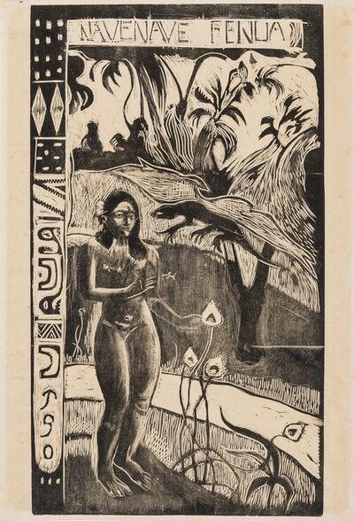Paul Gauguin, 'Nave Nave Fenua (Kornfeld 14)', 1893-94