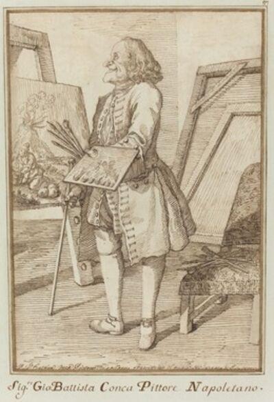 Pier Leone Ghezzi, 'Signore Sebastiano Conca, Pittore Napoletano', 1734/1755