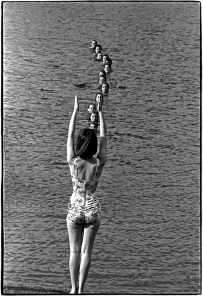 Al Satterwhite, 'Swim Class, Columbia, MO', 1965