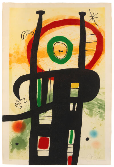 Joan Miró, 'Le Grand Ordinateur', 1969