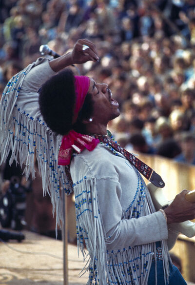 Gianfranco Gorgoni, 'Jimi Hendrix (Woodstock, New York)', 1969