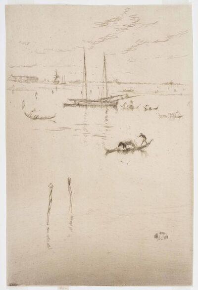 James Abbott McNeill Whistler, 'The Little Lagoon', 1879