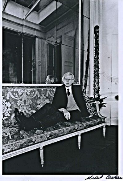 Michael Childers, 'Andy Warhol in Paris. from Palm Springs Art Museum ', 1976-1980