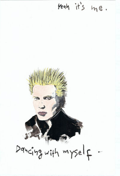 Konstantin Kakanias, 'Billy Idol', 2015