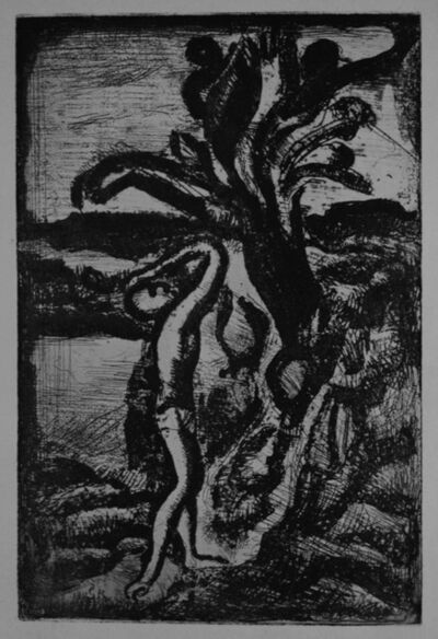 Georges Rouault, 'Réincarnations du Père Ubu:  frontispiece', 1918