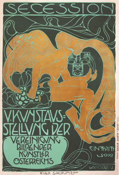 Koloman Moser, 'Viennese Secession Exhibition 1899', 1899