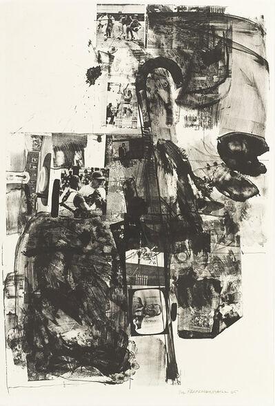 Robert Rauschenberg, 'Post Rally', 1965