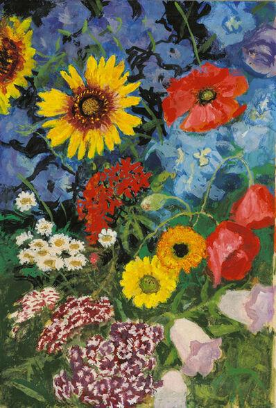 Alfons Walde, 'Summer Flowers'