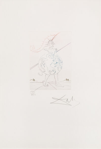 Salvador Dalí, 'Troilus and Cressida from Shakespeare II'