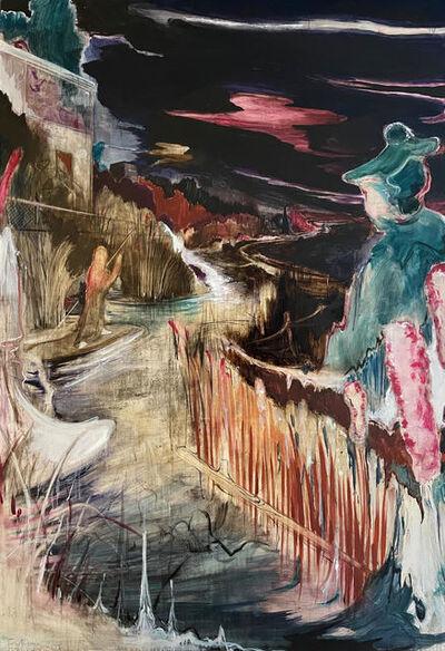 Rao Fu, 'Nachtfischen I', 2018