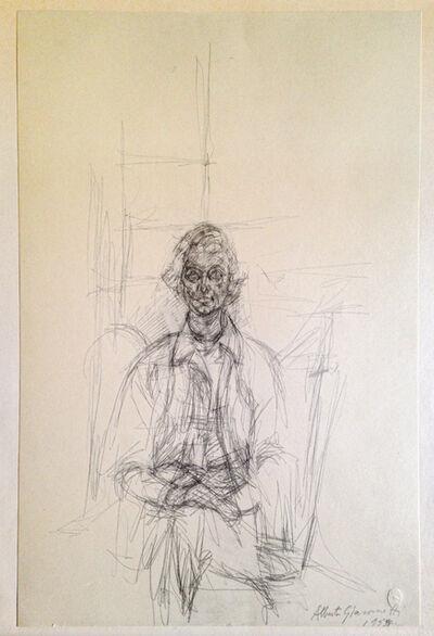 Alberto Giacometti, 'Ritratto di giovinetta', 1955-1963