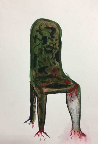 Gluklya, 'Wounded chair', 2017