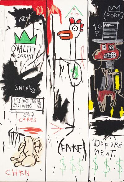 CB Hoyo, 'Quality Basquiat', 2018