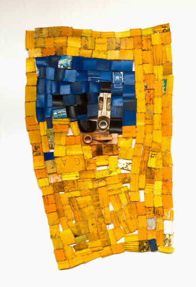 Serge Attukwei Clottey, 'Declare with Confidence', 2015