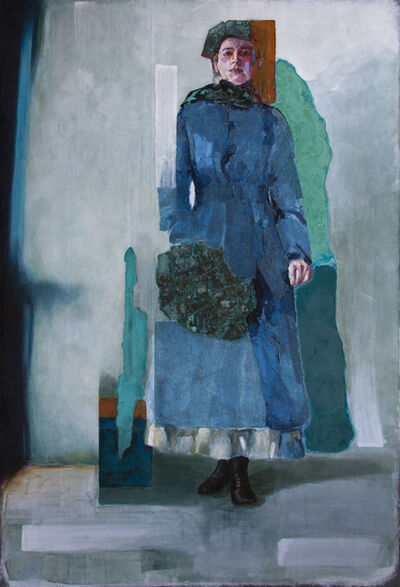 Piet van den Boog, 'Lady in Blue', 2018