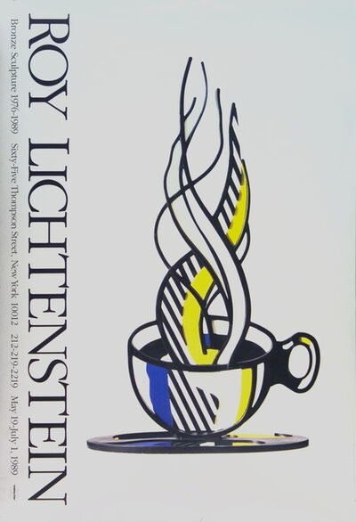 Roy Lichtenstein, 'Cup and Saucer', 1989