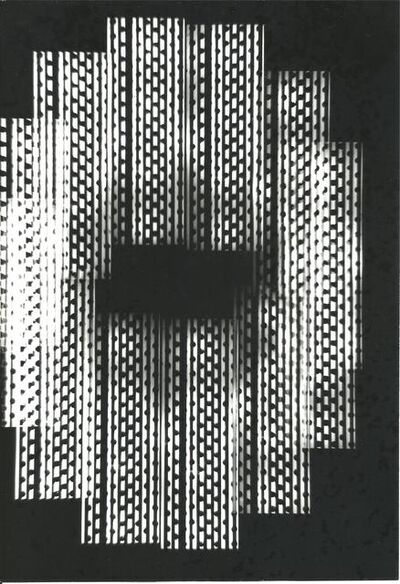 Nicolas Schoffer, 'Série Univers Tramé (Varetra Diversicateur Optique) Nr.1'