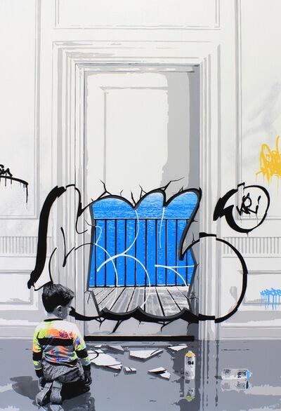 Kurar, 'Magritte Vandalism', 2017