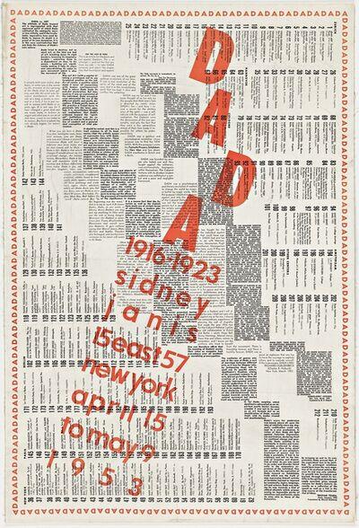 Marcel Duchamp, 'DADA ', 1953