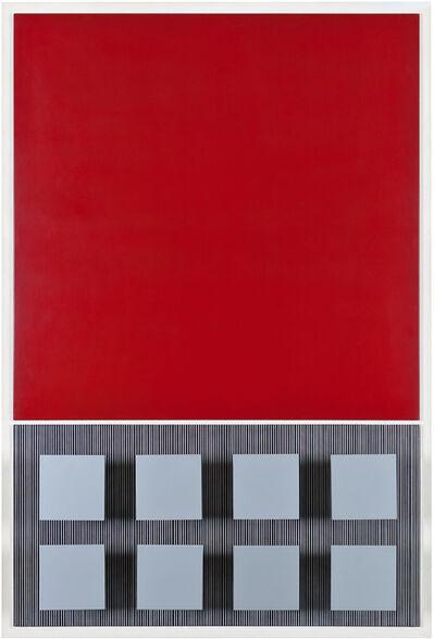 Jesús Rafael Soto, 'PÚRPURA Y PLATA', 1969