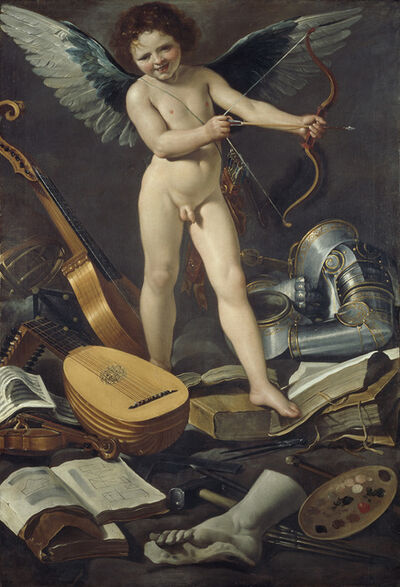 Rutilio Manetti, 'Victorious Earthly Love', 1625