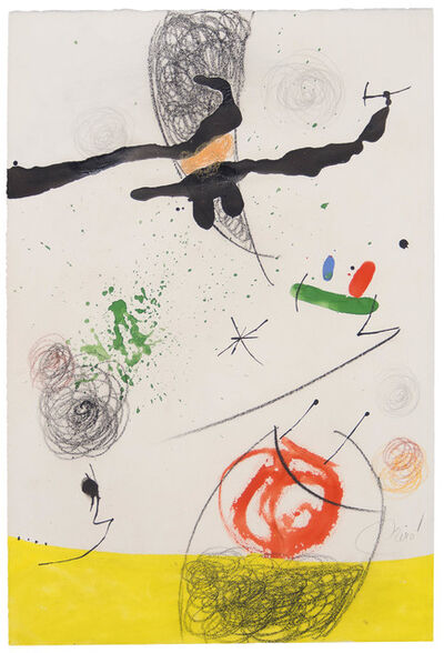 Joan Miró, 'Paysage Animé', 1971-1976