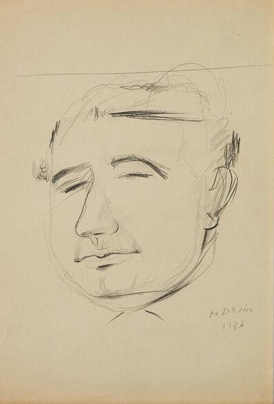 Marino Marini, 'Autoritratto su carta', 1937