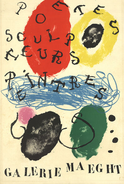 Joan Miró, 'Album 19, plate 17', 1961