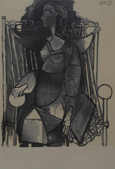 Pablo Picasso, 'Femme Assise Dans Fauteuil Tresse', 1979-1982