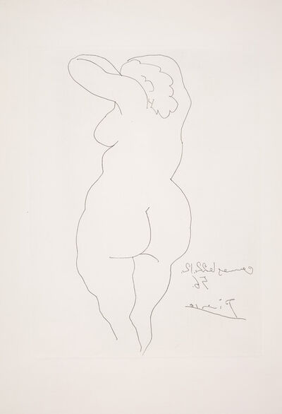 Pablo Picasso, 'Female Nude'