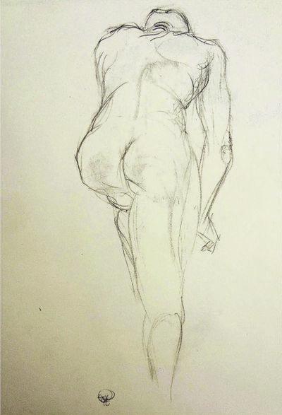 Alfred R Kelman, 'Class Model A - Black Anatomy', N/A