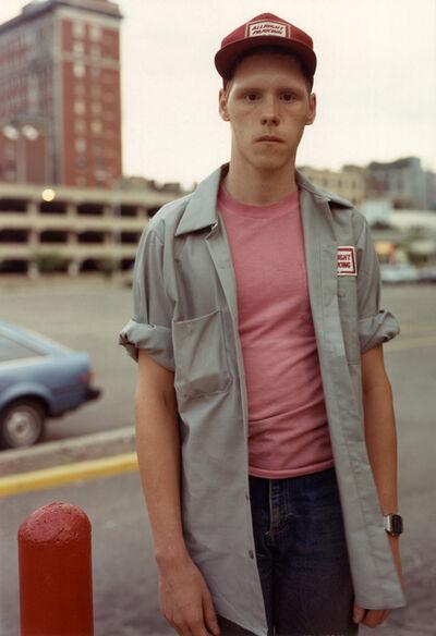 Bruce Wrighton, 'Parking Attendant, Binghamton, NY', 1987